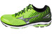 Mizuno Wave Rider 19 Running Shoes Men green gecko/silver/black